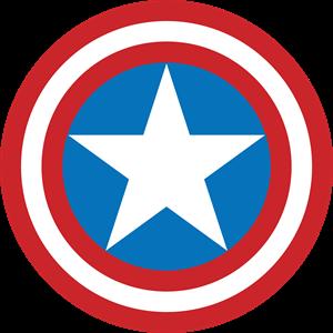Captain America Logo Shield