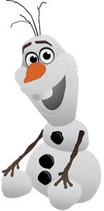 Frozen Olaf Logo
