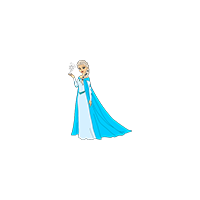 Frozen Queen Elsa Logo