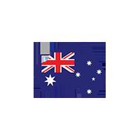 Australia Map Logo