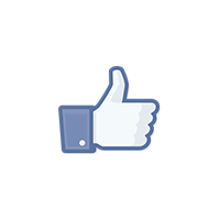 Facebook Like Icon Logo