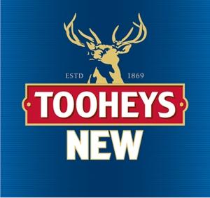 Tooheys New Stacked Logo